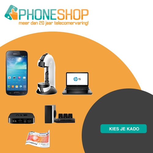 Phoneshop de nummer 1 in telefoons!