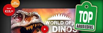 AD Webwinkel dagje naar World of Dinos voor € 15,60 p.p.