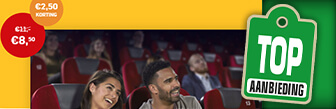 AD Webwinkel voor € 8,50 p.p. naar de film bij Pathé