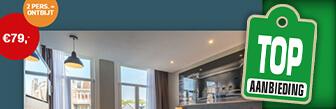 Overnachting bij Apollo & Leonardo hotels voor 2 nu € 79,-