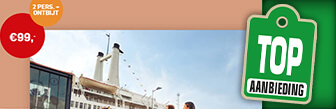 SS Rotterdam geniet nu samen van een hotelovernachting
