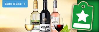 De lekkerste wijnen ontdek je op Ah.nl, bekijk het aanbod