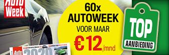 Nu 60x Autoweek voor maar € 12,- p.m. bij Magazine.nl