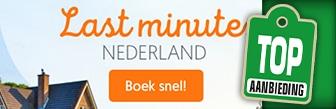 Belvilla last minute aanbiedingen in Nederland