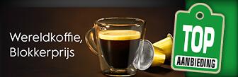 Blokker koffiecups, dat is wereldkoffie voor Blokkerprijzen