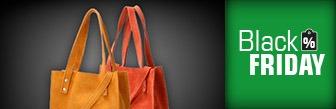 Shabbies Schoudertas Shopper Xs Suede Geel voor € 62.95