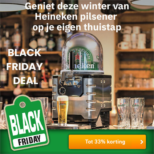Heineken Blade Black Friday kortingen tot wel 33%