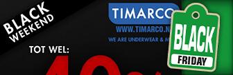 Timarco dit weekend tot wel 40% Black Friday korting