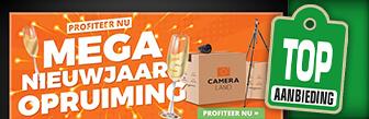 Mega nieuwjaar opruiming bij Cameraland met hoge kortingen
