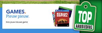 Games kopen dat doe je online bij Coolblue met korting
