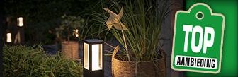 Philips Hue Impress buitenlamp op sokkel bij Coolblue