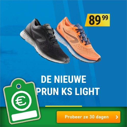 Decathlon probeer de KS Light nu 30 dagen