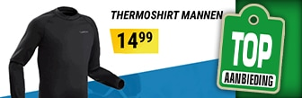 Decathlon heeft de ideale thermokleding