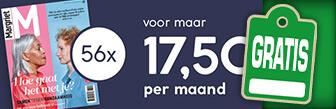 56x Margriet + gratis Cacharel tas en make-up tas t.w.v. € 144,-