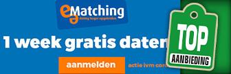 E-Matching nu tijdelijk één week gratis online daten