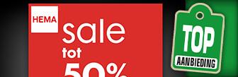 Sale bij Hema met hoge kortingen tot maar liefst 50%