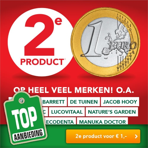 Holland and Barrett 2e product voor € 1,-