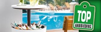 Livarno Living® bijzettafel met koelfunctie bij Lidl voor € 49,99