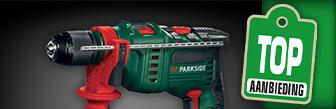 De Klopboormachine van Parkside nu voor maar € 29,99