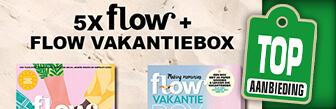 Nu 5x Flow met Flow vakantiebox voor maar € 27,95