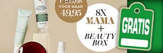 Nu een gratis beautybox t.w.v € 151,84 bij 8x Kek Mama