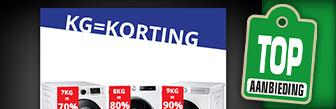 Kilo korting bij Skala huur nu voordelig een wasmachine