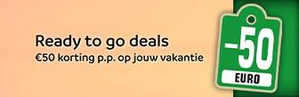 Nu bij Sunweb € 50,- korting p.p. voor je vakantie