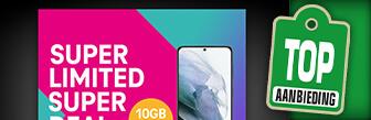 T-Mobile Super Limited Super Deal nu 10GB voor de prijs van 5GB