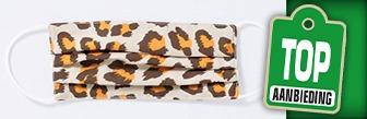 terStal wasbare mondkapjes met print voor € 3,99
