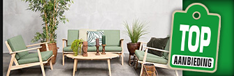De Fonteyn Loungeset Georgia Acacia groen koop je nu online