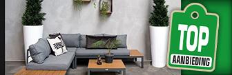 Koop de Fonteyn Loungeset Palma antraciet nu online