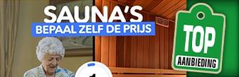 VakantieVeilingen bied mee op dagje sauna en Wellness