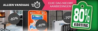 Tot wel 80% korting bij VoordeelVanger.nl