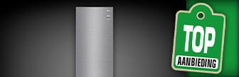 De LG GBB62PZGFN koelvriescombinatie nu € 599,-
