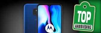 Koop de Motorola Moto E7 Plus smartphone nu voor € 129,-