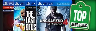 Nu PlayStation hits voor maar € 9,99 p.s. bij Wehkamp