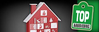 De Adventskalender Rood & Wit koop je nu voor maar € 34,95